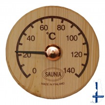 Sauna thermometer, rond